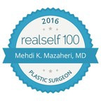 Dr. Mehdi K. Mazaheri, Scottsdale's Premier Plastic Surgeon has received the prestigious RealSelf 100 award for for his enduring commitment to consumer education