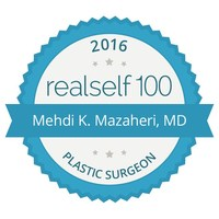 Dr. Mehdi K. Mazaheri, Scottsdale's Premier Plastic Surgeon has received the prestigious RealSelf 100 award for for his enduring commitment to consumer education