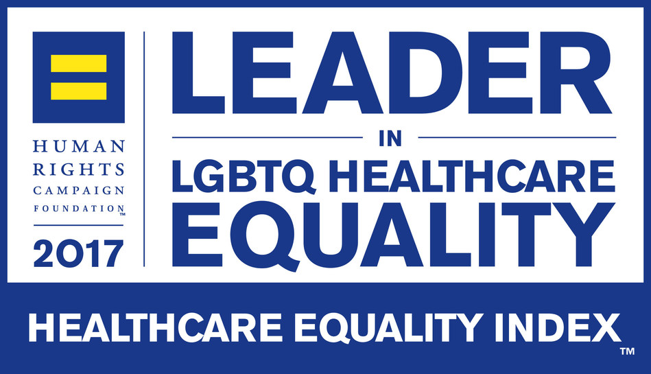 Human Rights Campaign Foundation Leader in LGBTQ Healthcare Equity Badge