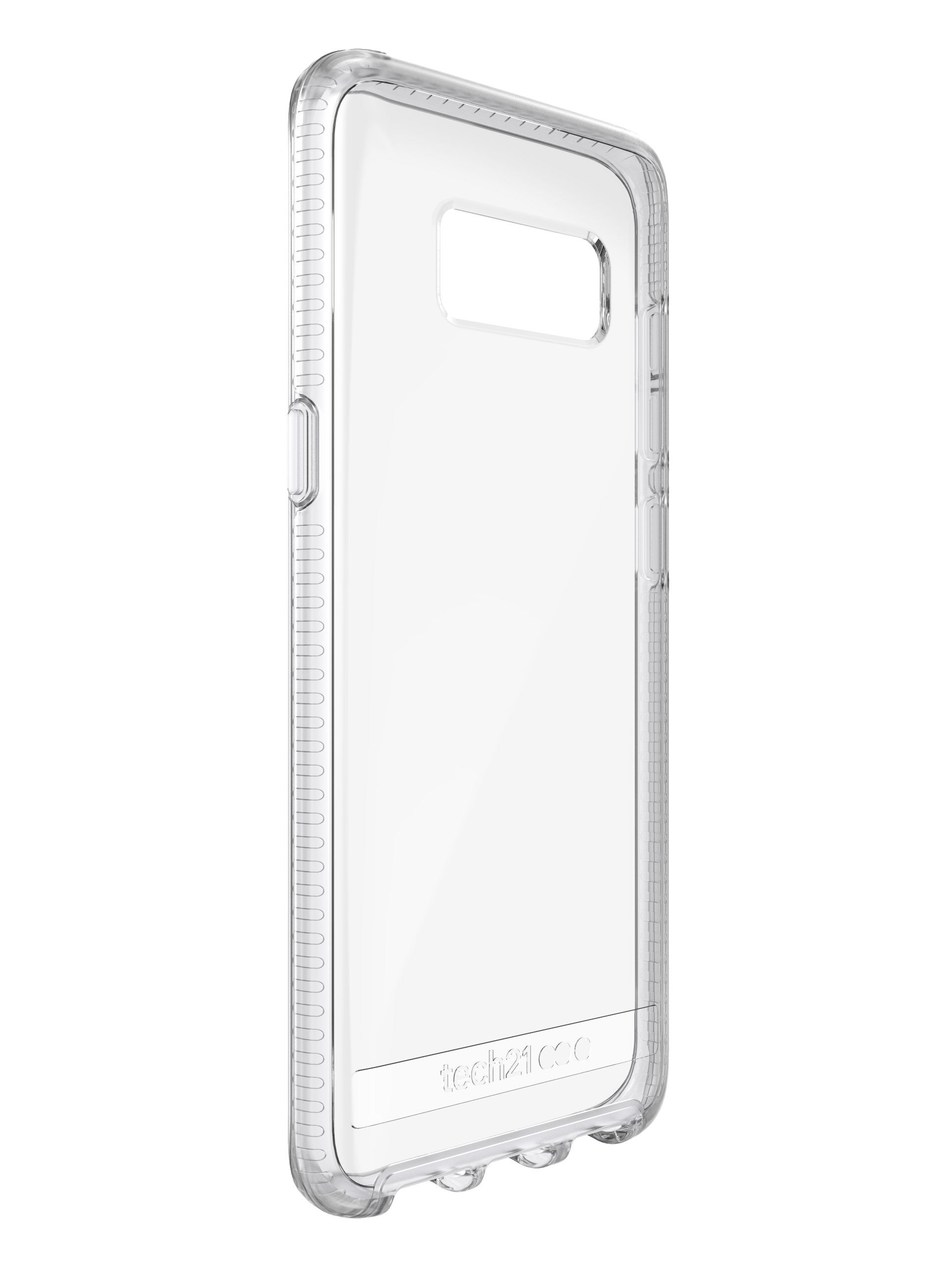 Tech21 Pure Clear case for Samsung Galaxy S8 and S8+ (PRNewsFoto/Tech21)