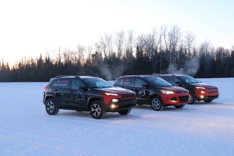 AAM's EcoTrac test fleet.