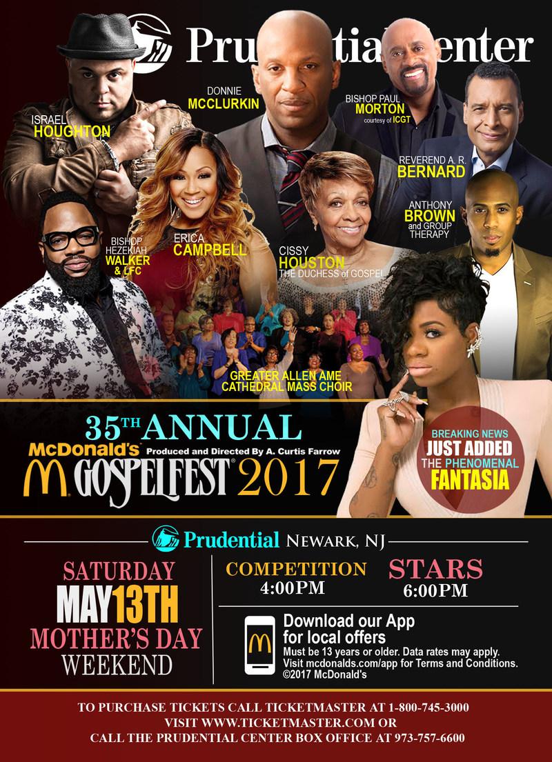 McDonald's Gospelfest 2017