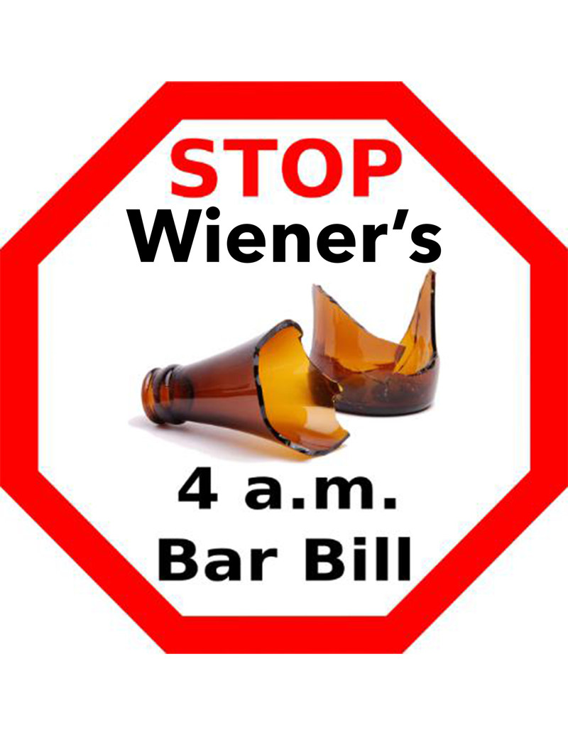 California Senate advances SB 384, a dangerous bill to extend alcohol sales to 4 a.m. with no regard for public health and safety.