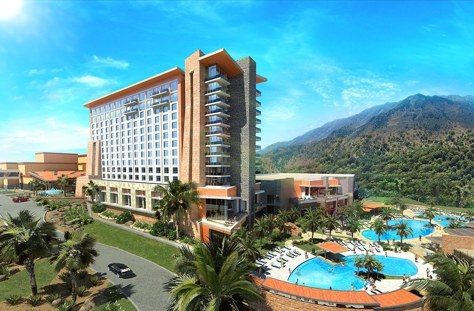 Sycuan Casino and Resort's new 12-story hotel tower will feature 300 guest rooms