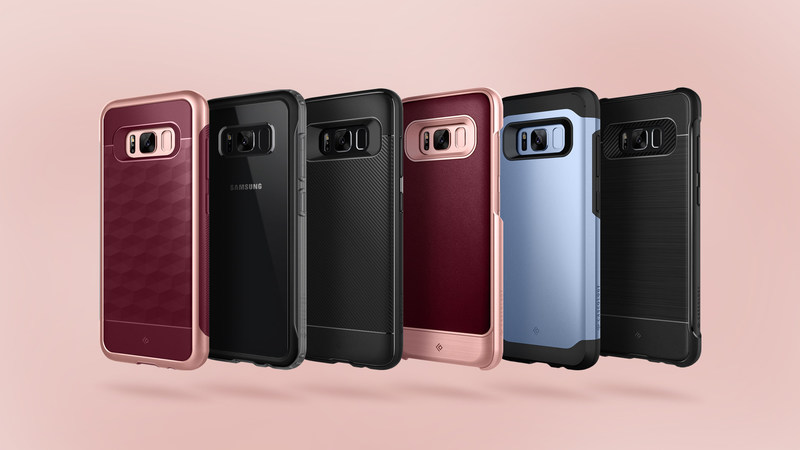 Caseology today announced six new cases for the Samsung Galaxy S8 and S8 Plus smartphones
