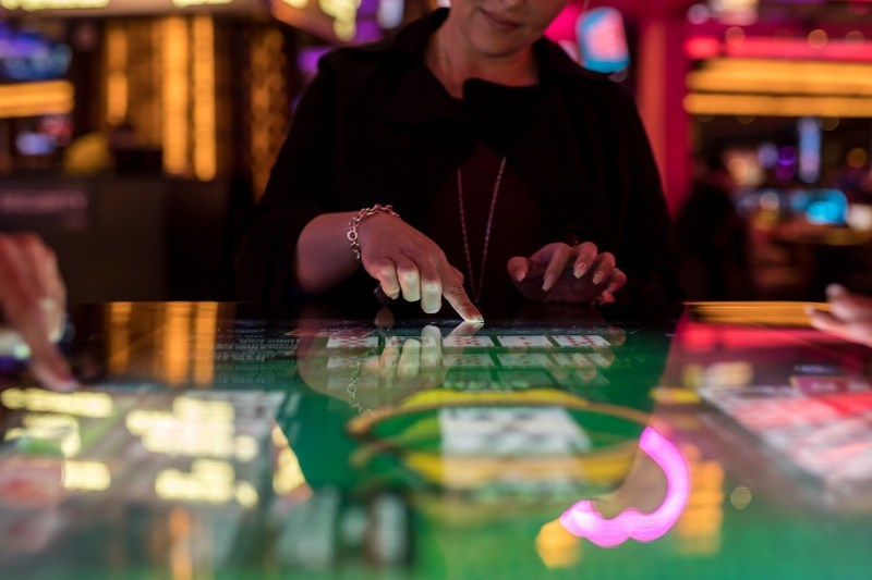 Caesars Entertainment Launches Las Vegas' First Interactive Video Gaming Experience at Planet Hollywood Resort & Casino. Photo Credit: BSK Photo