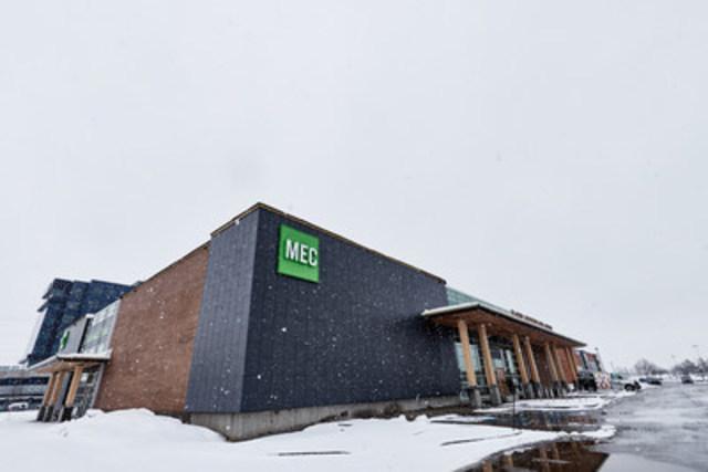 Le nouveau MEC Québec dans Lebourgneuf - Crédit photo : Francis Fontaine (Groupe CNW/MEC)