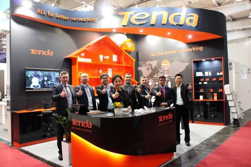 Tenda Glistened on CeBIT 2017
