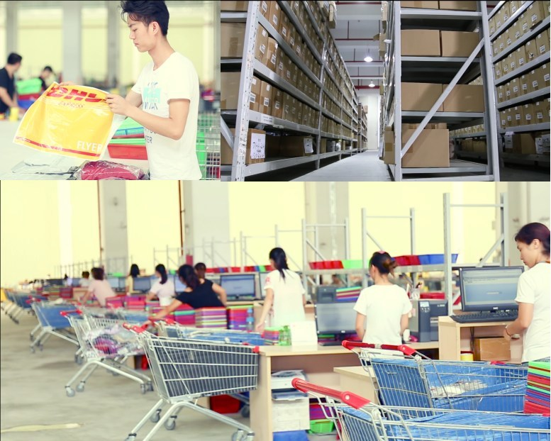Globalegrow provides centralized and localized warehousing to support flexible delivery service