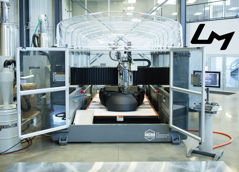 IACMI-The Composites Institute and Local Motors announce new project.  Integration of large-scale additive manufacturing and composite materials for vehicle applications will challenge existing designs and define new components to meet longevity and crash performance requirements.
