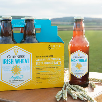 A Successful Harvest Brings Guinness Irish Wheat