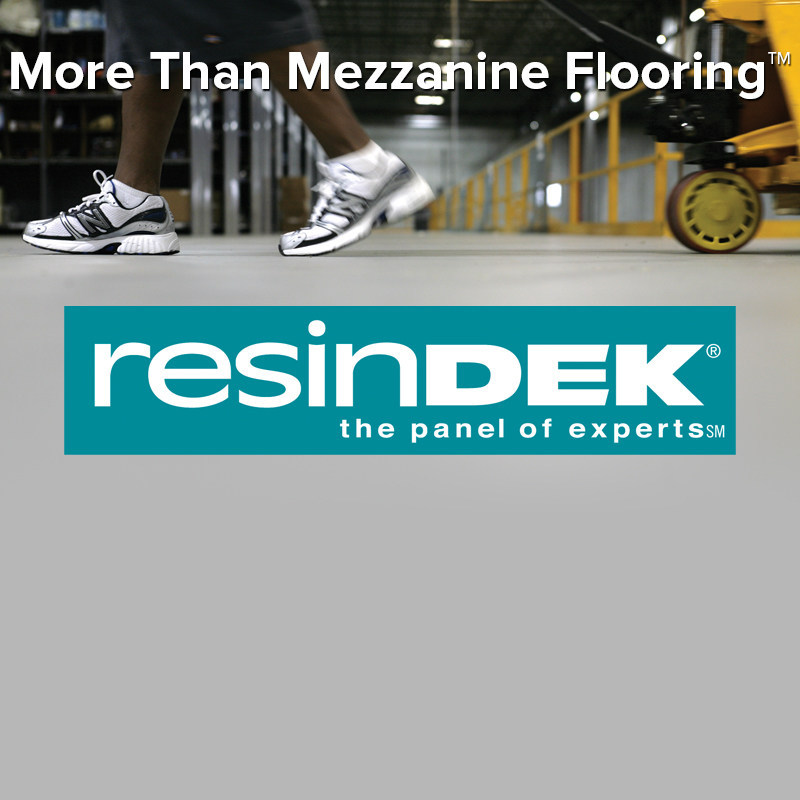 ResinDek(R) floor panels have proven structural integrity and support pallet jack loads from 2,000 - 8,000 lbs.