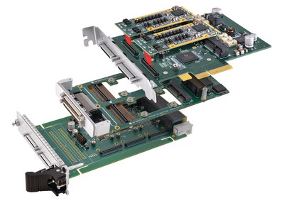 Shown: VPX, XMC, & PCI Express for AcroPack I/O Modules