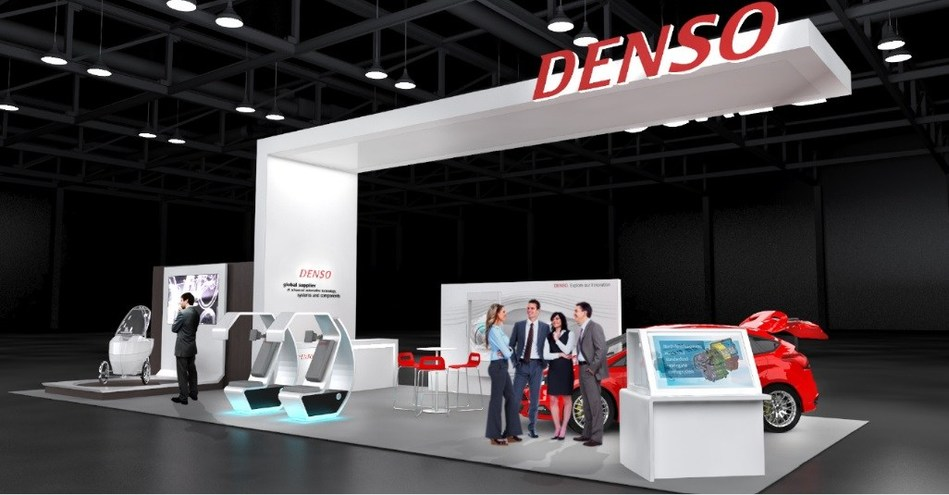 DENSO Booth Rendering