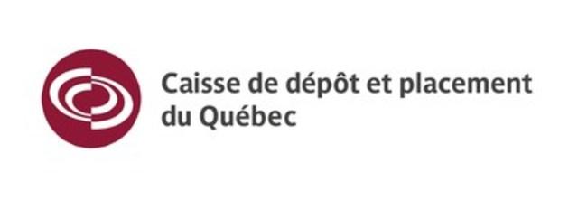 Logo: Caisse de dépôt et placement du Québec (CNW Group/Caisse de dépôt et placement du Québec)