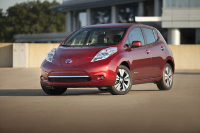 Nissan congratulates the government of Quebec for its enhanced Drive Electric Program (CNW Group/Nissan Canada Inc.)