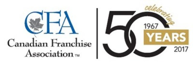 The Canadian Franchise Association (CFA) presented the Awards of Excellence in Franchising during a dinner gala in Niagara Falls, Ontario on Monday, April 3. Symposium Cafe and Par-T-Perfect took home the top honours for the evening, winning the Grand Prizes for Traditional and Non-Traditional Franchises, respectively. (CNW Group/Canadian Franchise Association)