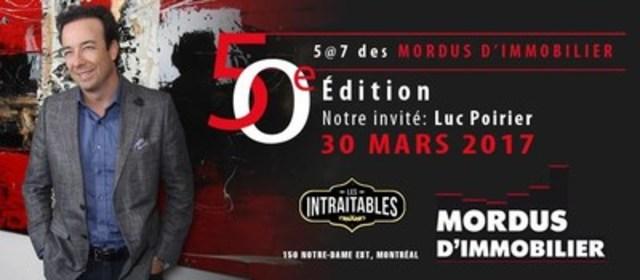 50e soirée de réseautage des Mordus d'Immobilier. (Groupe CNW/Mordus d'immobilier)