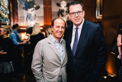 Prosper Assouline, Founder of Assouline, and Michele Caniato, Chief Brand Officer at sbe
