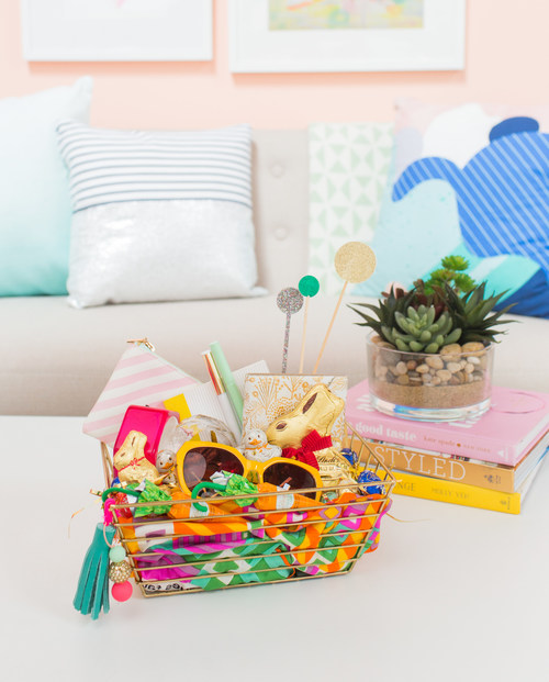 Premium Chocolatier Partners with Designer Joy Cho to Share DIY Easter Basket Tips (photo credit: Casey Brodley for Oh Joy)