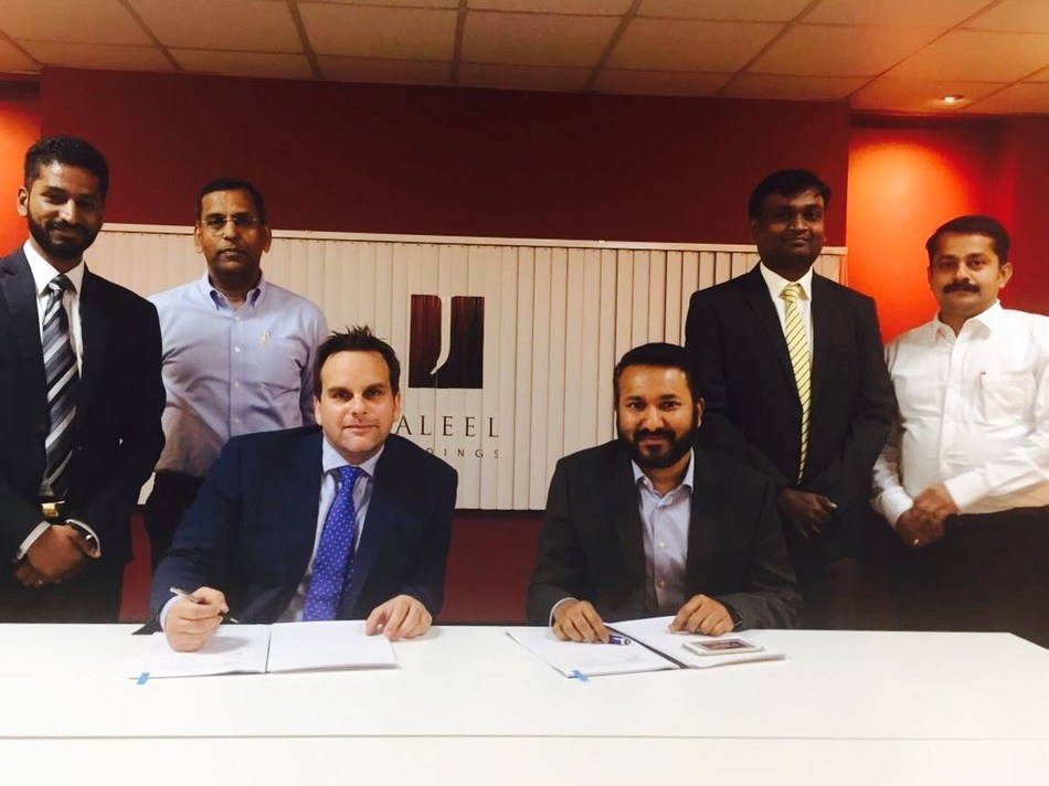 Agreement between Jaleel Holdings and BIOS for fully managed cloud services (PRNewsFoto/BIOS Middle East)