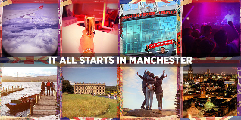 Virgin Atlantic, VisitBritain & Marketing Manchester team-up to promote new routes from San Francisco and Boston into Manchester, UK. Inspiration for trip planning can be found on visitmanchester.com/ItAllStartsInManchester