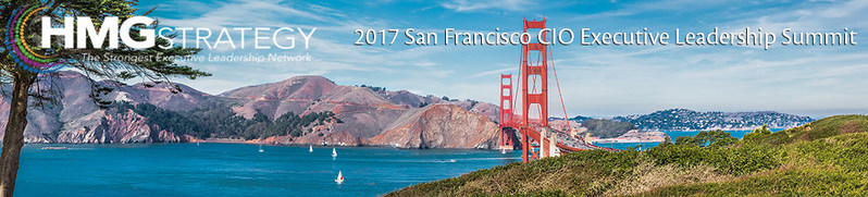 Register Today for the 2017 San Francisco CIO Executive Leadership Summit! https://apr2017.ontrackevents.com