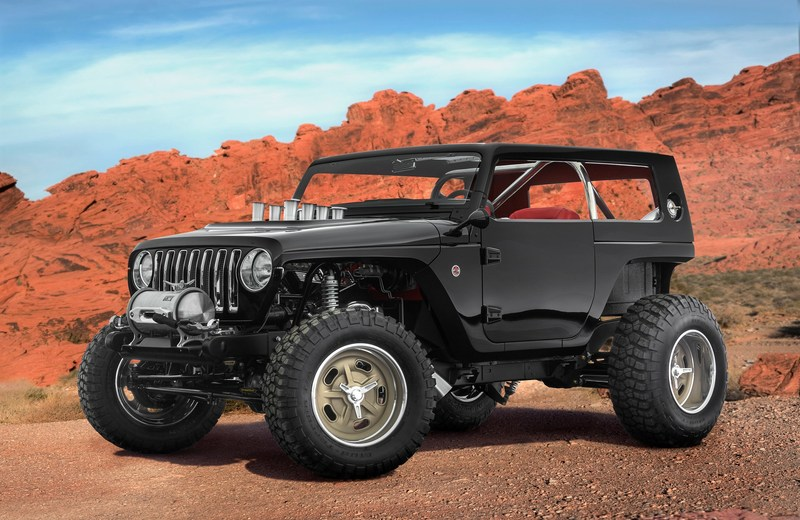 The Jeep Quicksand is one of several new concepts the Jeep and Mopar brands have created for the 51st Easter Jeep Safari in Moab, Utah, next month.
