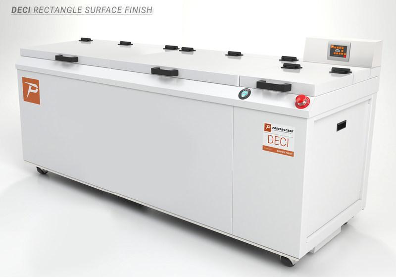 DECI Rectangular Surface Finish by PostProcess Technologies