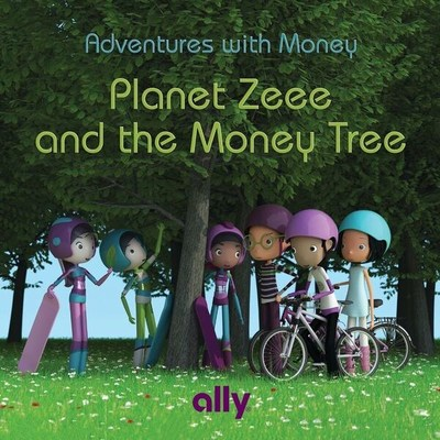 Ally's children's book uses a fun, futuristic storyline to teach money skills and concepts to kids ages 6-10.