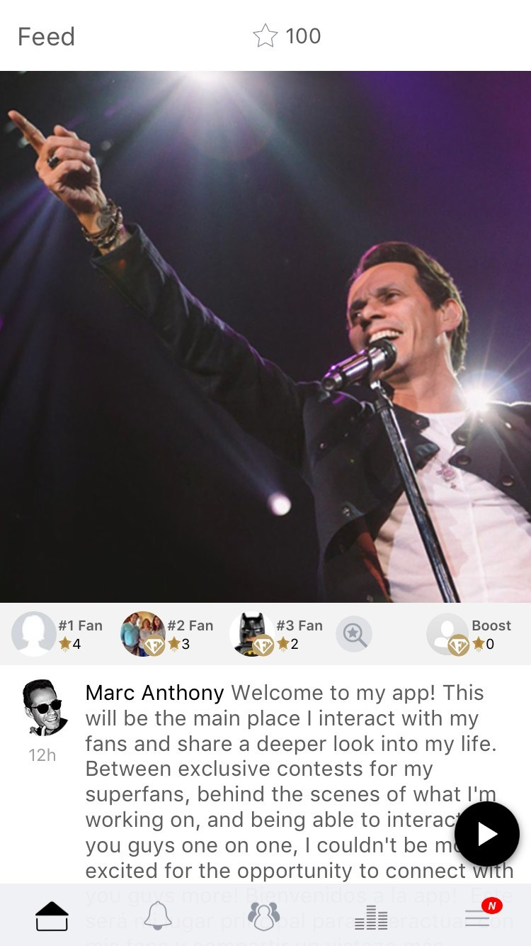 International music star, actor, producer, and philanthropist Marc Anthony announced today the launch of his first ever mobile app for fans, in partnership with escapex.