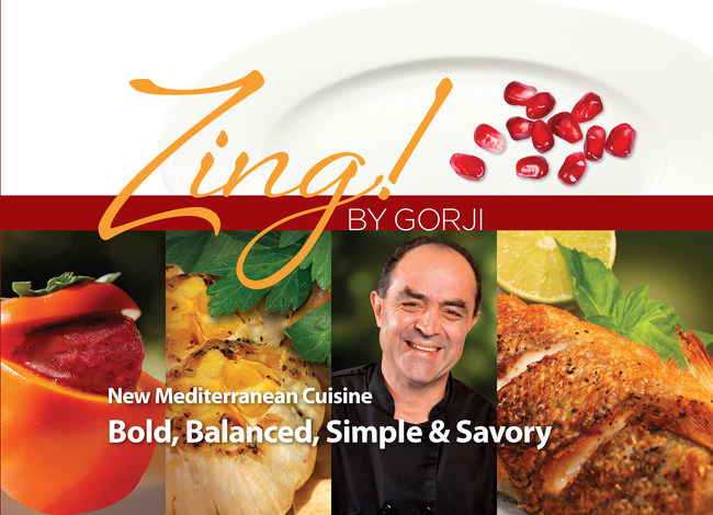 Zing! Cookbook: New Mediterranean Cuisine