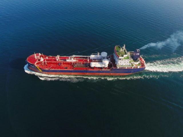 Damia Desgagnés during sea trials in Turkey (CNW Group/Groupe Desgagnés inc.)