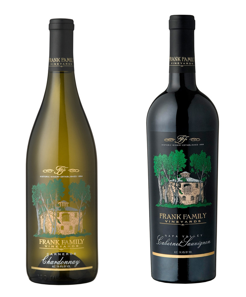 "Frank Family's Napa Valley Chardonnay and Cabernet Sauvignon were ranked #20 on the ""Most Popular By The Glass"" selections in Wine & Spirits' Annual Restaurant Poll"