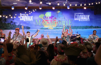 Universal CityWalk Toasts the Arrival of Jimmy Buffett's Margaritaville Restaurant, the First-Ever to Open in California, with a Celebratory Performance by Jimmy Buffett