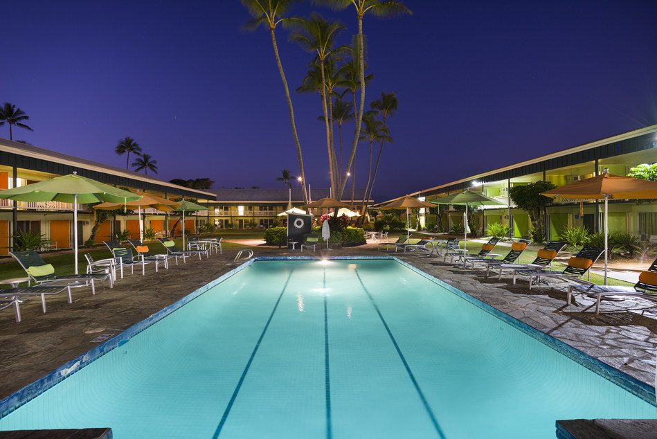 Kauai Shores Hotel has embarked on a quarter-of-a-million dollar pool renovation, the highlight of which features a new Cocktail Hotline - a first in Hawaii - where guests can call and order their drinks delivered poolside from the on-site Lava Lava Beach Club. As a top hotel on Kauai's Coconut Coast, recent Reader's Choice Awards named Kauai Shores the Best Kauai Boutique Hotel, Best Kauai Hotel with the Best Aloha Spirit, Best Kauai Hotel Staff and Best Kauai Value Hotel, among many others.