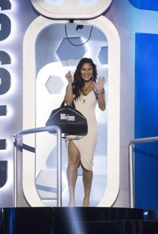 Evicted houseguest Cassandra Shahinfar, Winnipeg, Man. exits the BBCAN Odyssey (CNW Group/Global Television)