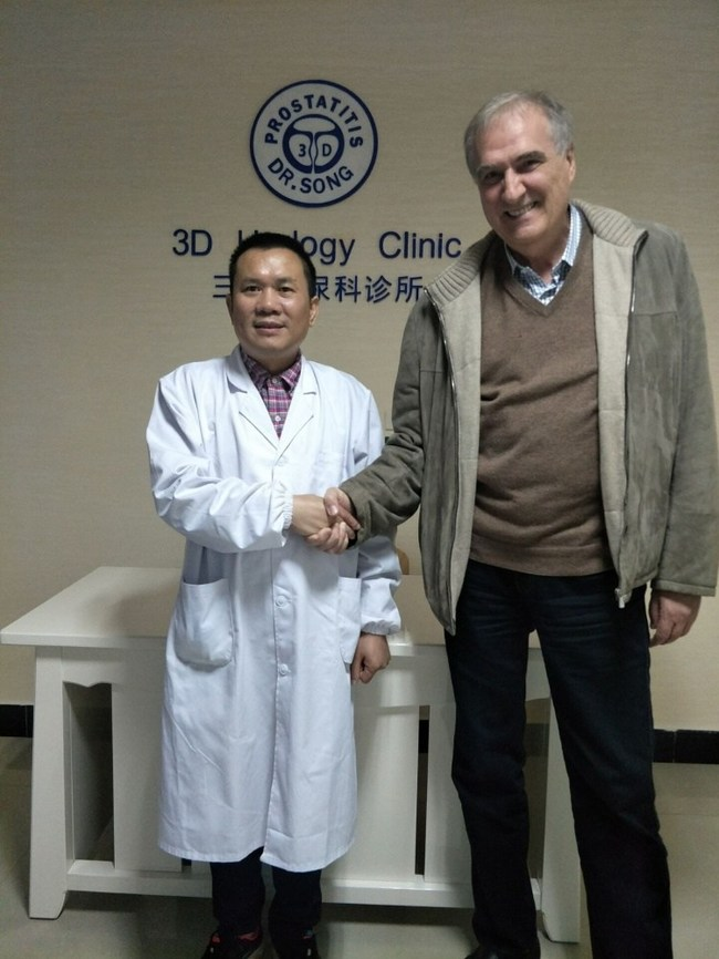 Dr. Xinping Song and Vladimir Delic