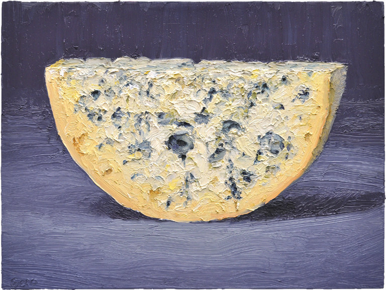 Artwork from renowned cheese artist, Mike Geno and paintings of pastries from well-known America artist Wayne Thiebaud are on display at St. Supery Estate Vineyards throughout the month of April in support of the Arts Council Napa Valley's Arts in April.