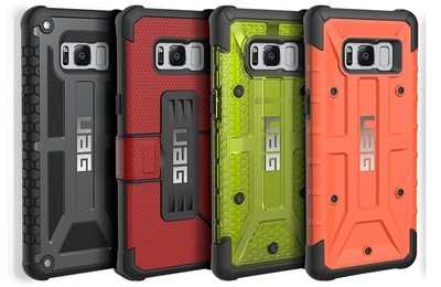 Urban Armor Gear Introduces Four Series of Rugged Cases for Samsung's New Galaxy S8 and S8+