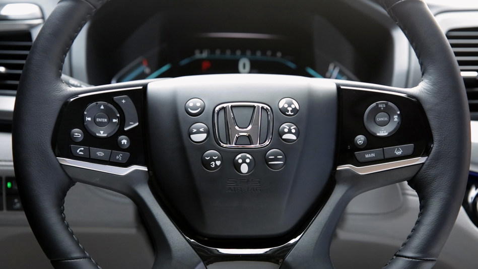 Car Horn Emojis Mark Next Step in Honda Advanced In-Vehicle Technology