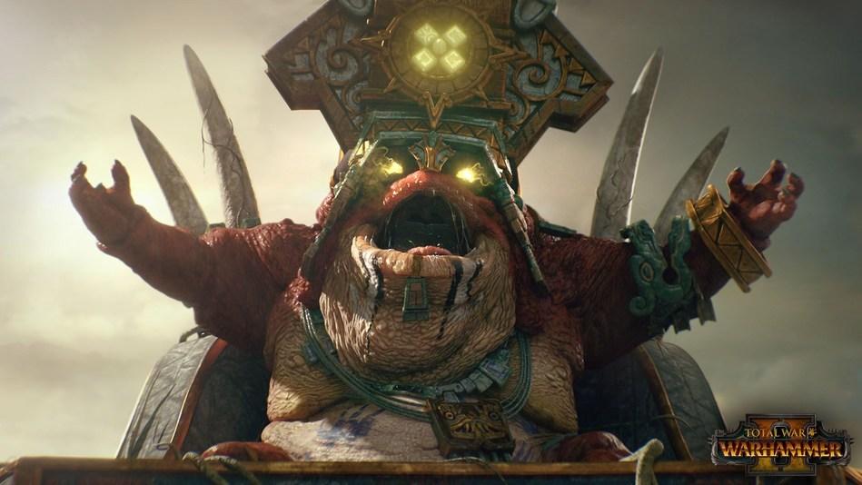 Total War: WARHAMMER II - Lord Mazdamundi of the Lizardmen, Lord of the Solar City (PRNewsFoto/SEGA Europe Ltd)