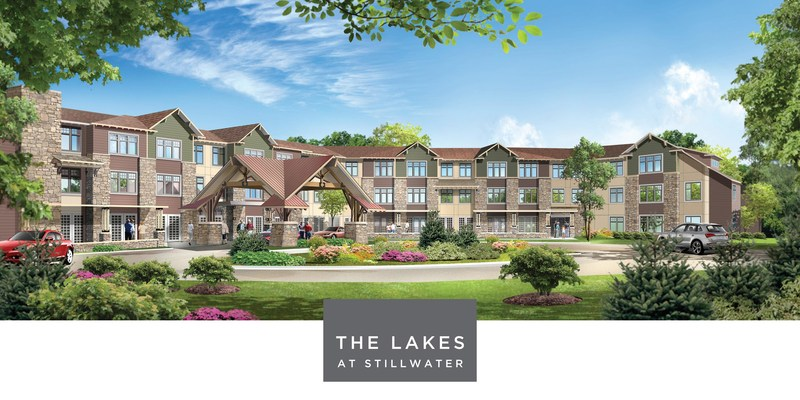 Stillwater's First Senior Living Campus, The Lakes at Stillwater.