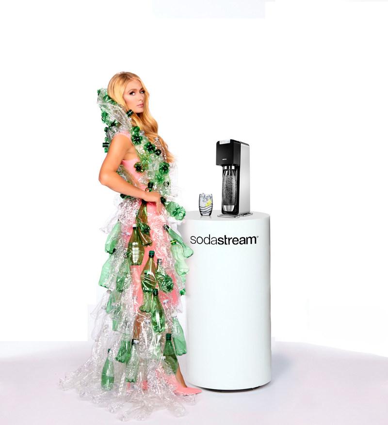 SodaStream International Ltd. announced today that it was the brand behind NanoDrop; a fun new April Fools' marketing campaign featuring Paris Hilton.