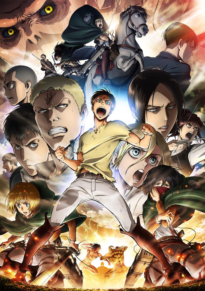 """Attack On Titan"" Season 2 To Premiere Saturday April 1 On FunimationNow, Hulu And Crunchyroll"