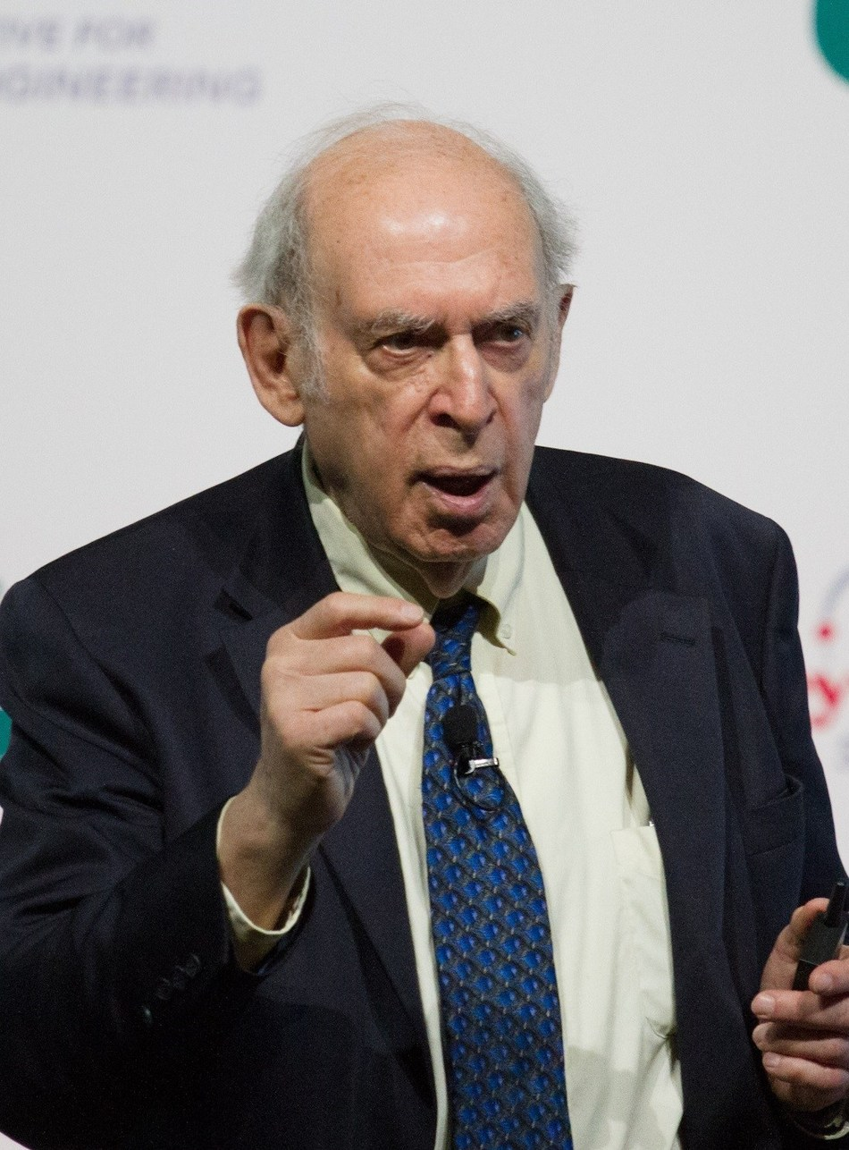 """Nobel Laureate Jerome Friedman presents """"Are We Really Made of Quarks"""" at the Honeywell Initiative for Science & Engineering at Instituto Politecnico Nacional in Mexico City, April 4, 2017"""