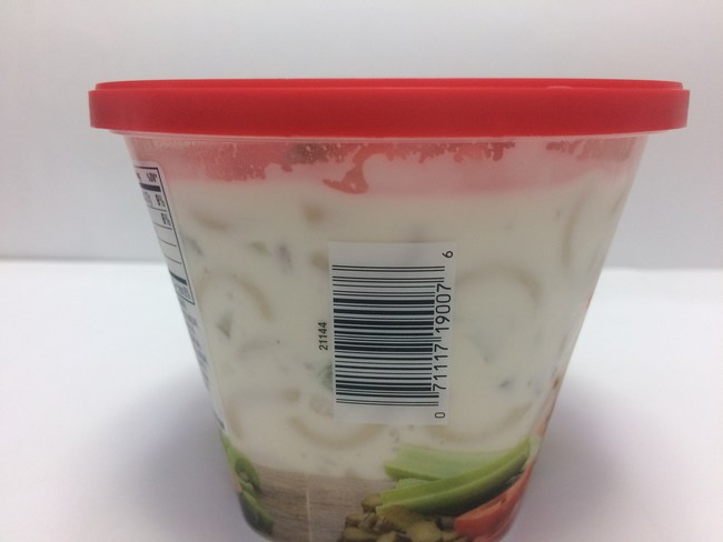 Reser's Macaroni Salad UPC Number