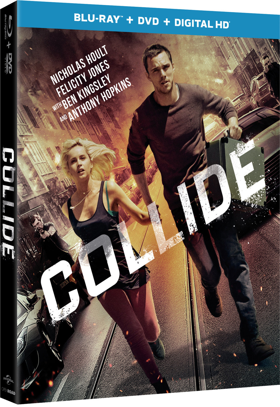 From Universal Pictures Home Entertainment: Collide