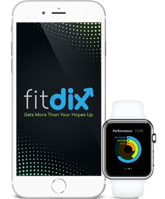 FitDix is the newest iWatch app that gets more than your hopes up