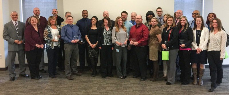Thirty-two Michigan Department of Corrections field agents from 17 counties were recognized for their work with alcohol-involved offenders in 2016.